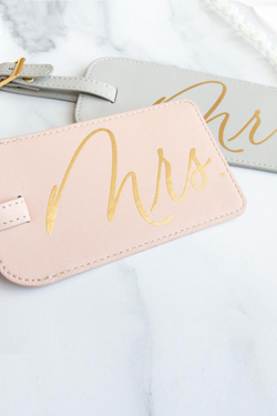 Mr. - Mrs. Luggage Tag