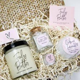Feel Better Care Package Gift Box