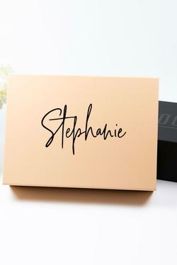 Personalized Keepsake Gift Box - Proposal Box