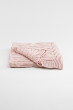 Heirloom Keepsake Baby Blanket - Blush