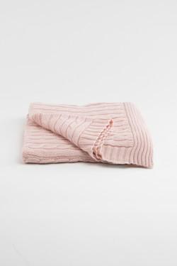 Heirloom Keepsake Baby Blanket - Blush
