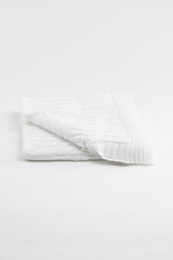 Heirloom Keepsake Baby Blanket - White