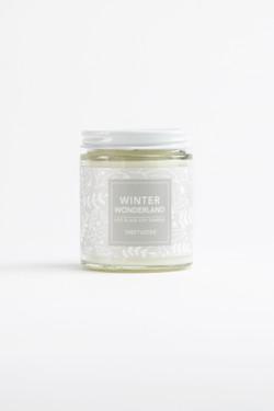 Winter Wonderland Glass Jar Soy Candle - 6oz