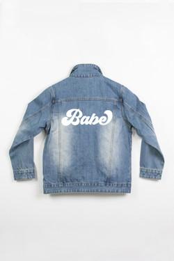 Ladies Denim Jacket - Babe