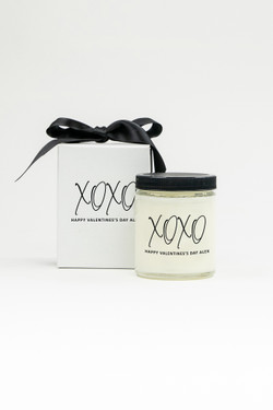 Personalized Soy Candle - XOXO