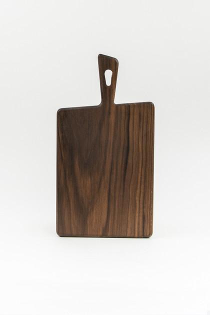 Tapered Black Walnut Cutting Board - Small