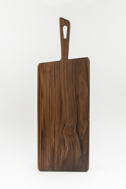 Tapered Black Walnut Cutting Board - Large