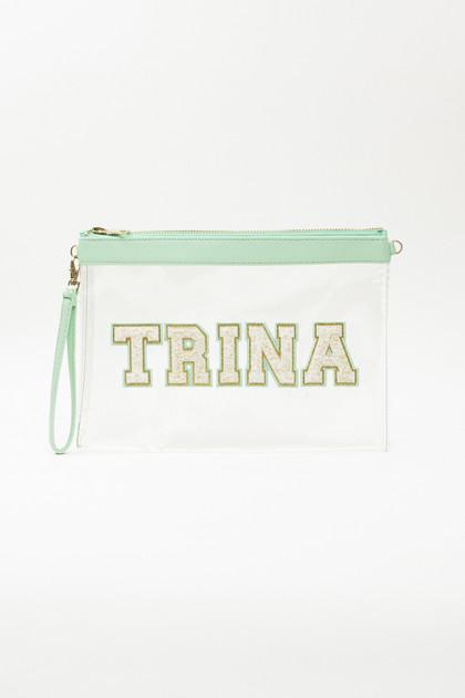 Clear Travel Bag - Mint
