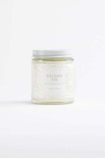 Balsam Fir Glass Jar Soy Candle - 6oz