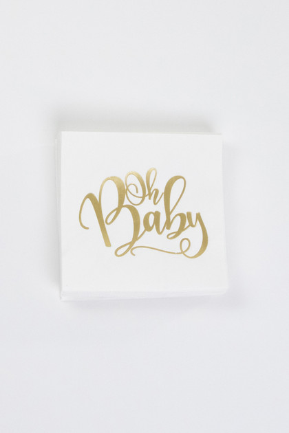 Party Napkins - Oh Baby