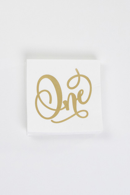 Party Napkins - One