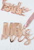 Bridal Party Acrylic Tags