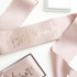 Maid of Honor Wedding Sash
