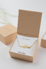 Bridal Party Necklace and Card  - Bridesmaid