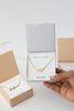 Bridal Party Necklace and Card  - Maid of Honor