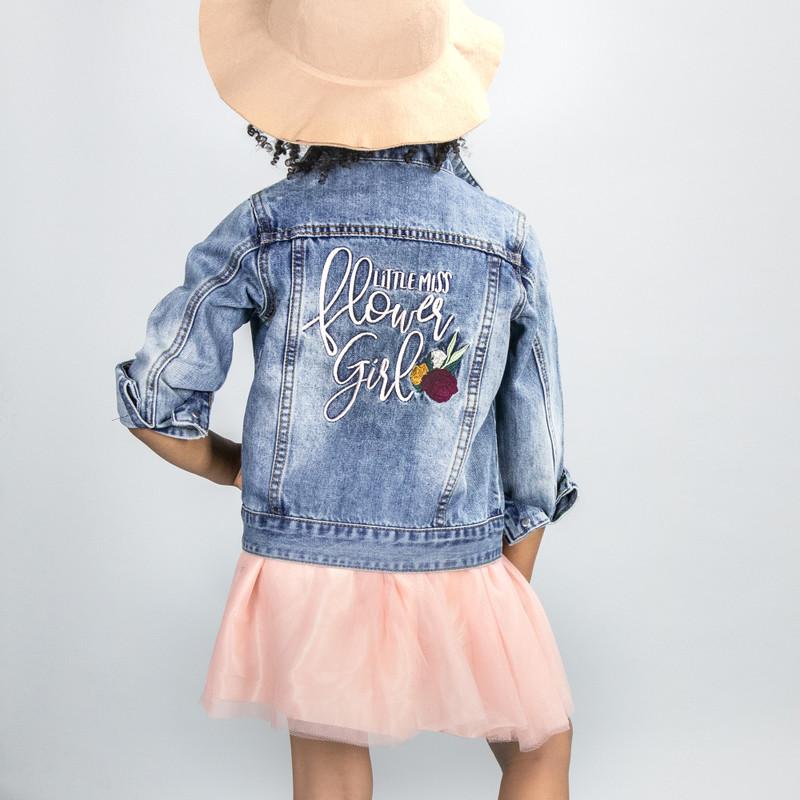 Flowergirl Denim Jacket