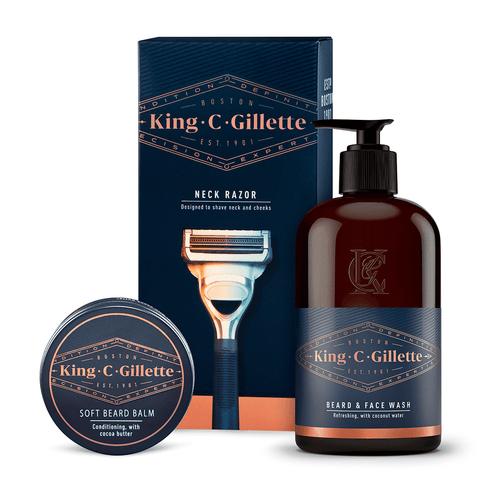 Neck Razor & Grooming Care Kit