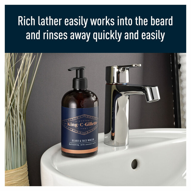 Beard & Face Wash 350ml