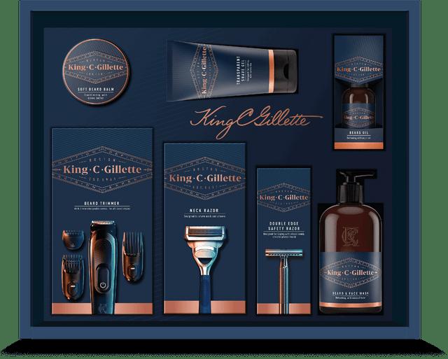 King C Gillette Ultimate Grooming Kit