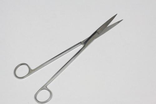 10IN Stainless Steel Aquarium Scissors - Straight Type - Mirror Surface