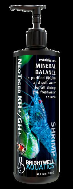 Brightwell Aquatics Shrimp NeoTiger KH+/GH+ for Shrimp & Freshwater Aquaria