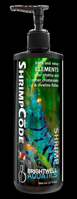 Brightwell Aquatics ShrimpCode - Trace and Elements for Shrimp & Freshwater Aquaria