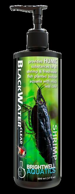 Brightwell Aquatics Shrimp Blackwater Clear - Humic Supplement for Shrimp & Freshwater Planted Biotope Aquaria