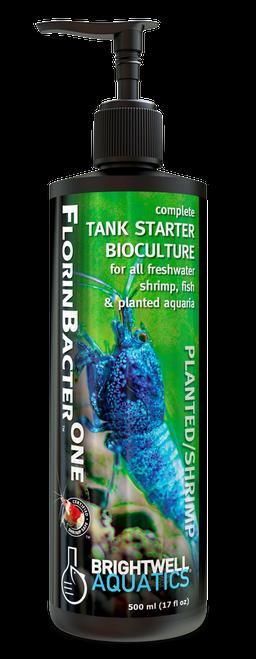 Brightwell Aquatics Shrimp FlorinBacter One - Starter Bioculture for Freshwater Shrimp and Fish