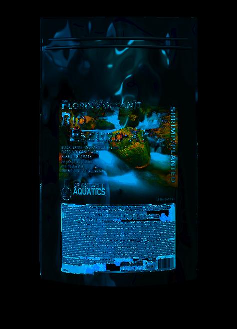 Brightwell Aquatics FlorinVolcanit Rio Escuro-XF Black 1mm - Shrimp and Plant Substrate Aqua Soil