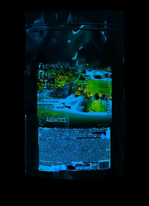 Brightwell Aquatics FlorinVolcanit Rio Escuro-F Black 3mm - Shrimp and Plant Substrate Aqua Soil