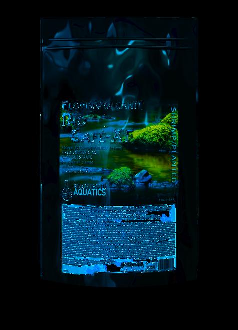 Brightwell Aquatics FlorinVolcanit Rio Cafe-XF Brown 1mm - Shrimp and Plant Substrate Aqua Soil