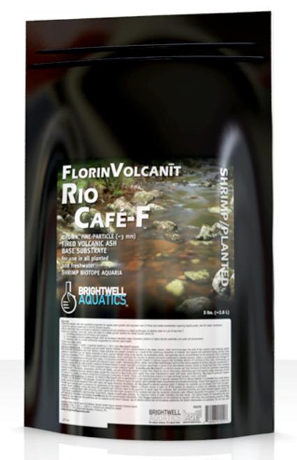 Brightwell Aquatics FlorinVolcanit Rio Cafe-F Brown 3mm - Shrimp and Plant Substrate Aqua Soil