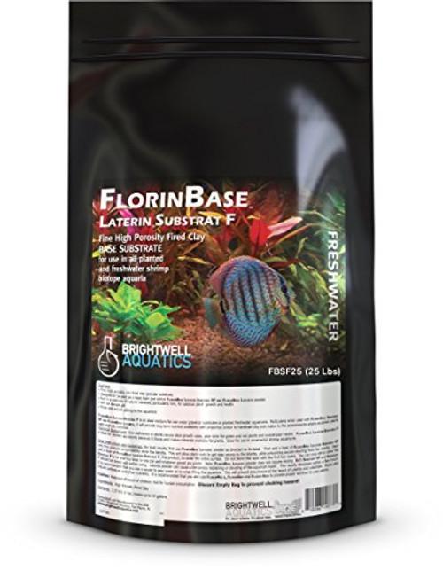 Brightwell Aquatics FlorinBase Laterin Fired Substrat F - Planted Freshwater Aquarium Substrate Aqua Soil
