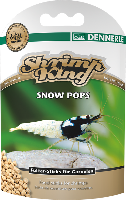 Dennerle Shrimp King - Snow Pops 40g