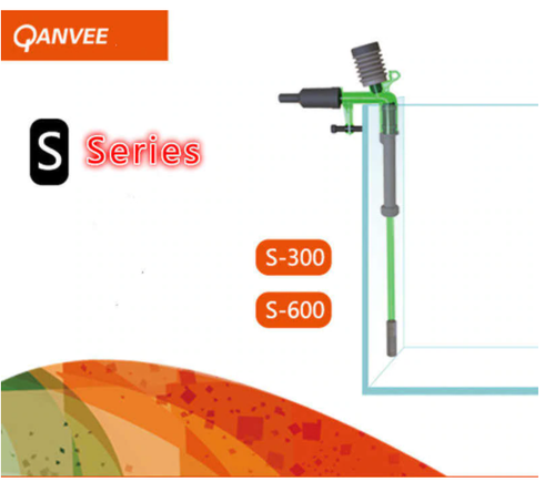 Qanvee Gravel Vacuum Siphon - Water Change Made Easy