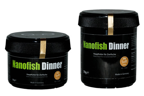 GlasGarten Nanofish Dinner Soft Gran (Fish Food)