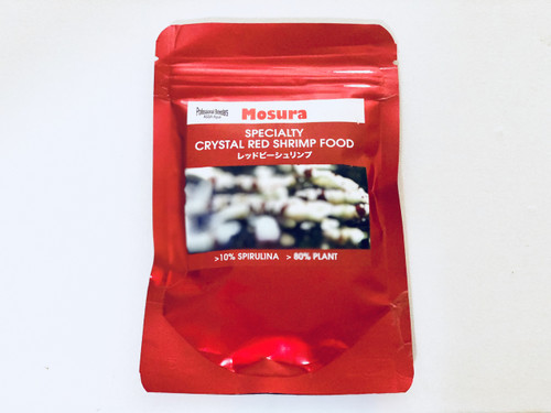 Mosura Specialty Crystal Red Shrimp Food 25g