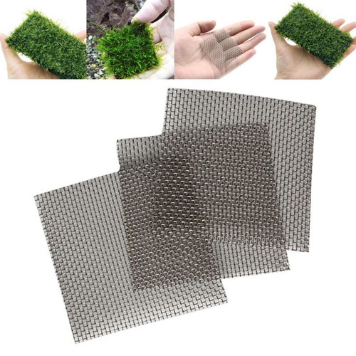 Stainless Steel Wire Mesh Pad Plants Moss Net