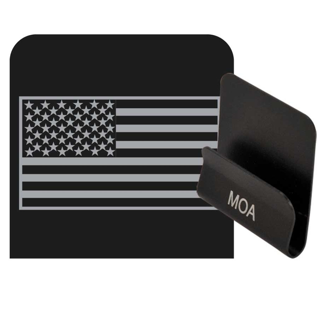 Subdued American Flag Operator Clip. Add these metal logo clips to any of  your favorite 8a1d29d4d30