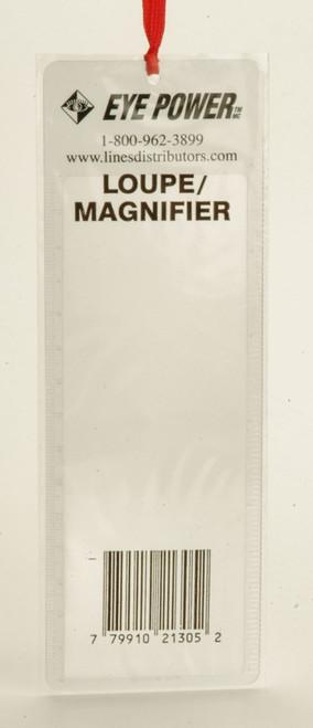 2X Bookmark Magnifier w/Ruler