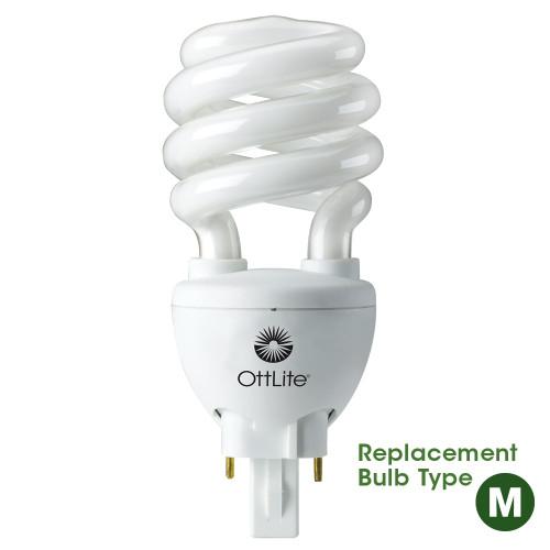 "OTTLITE B84J35 20w 2 Pin Swirl Bulb TYPE ""M"""