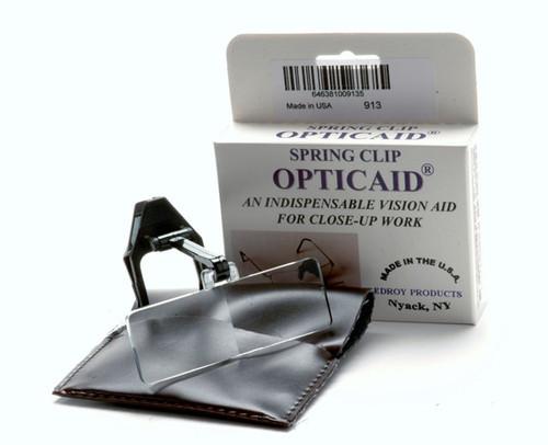 Opticaid Plastic Clip-On, 2x Power