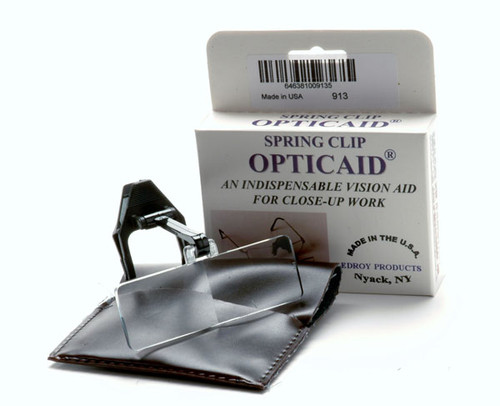 Opticaid Plastic Clip-On, 2.25x Power