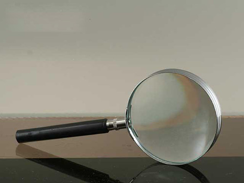 """Glass Magnifier, 3"""", 2.5x Power"""