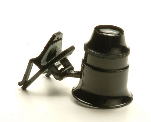 Clip-On Jewellers Loupe, 5x / 10x Power