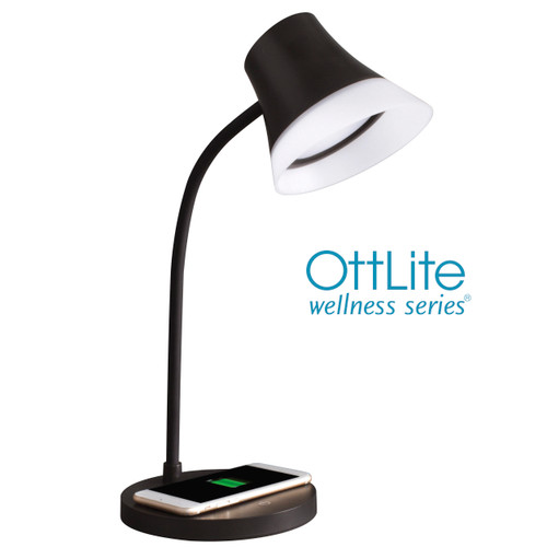 Shine LED Desk Lamp with Wireless Charging