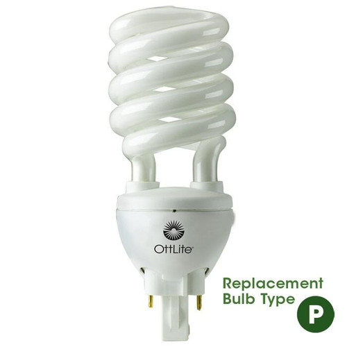 OTTLITE (SB25-P-FFP) 25w 2 Pin Swirl Bulb TYPE P