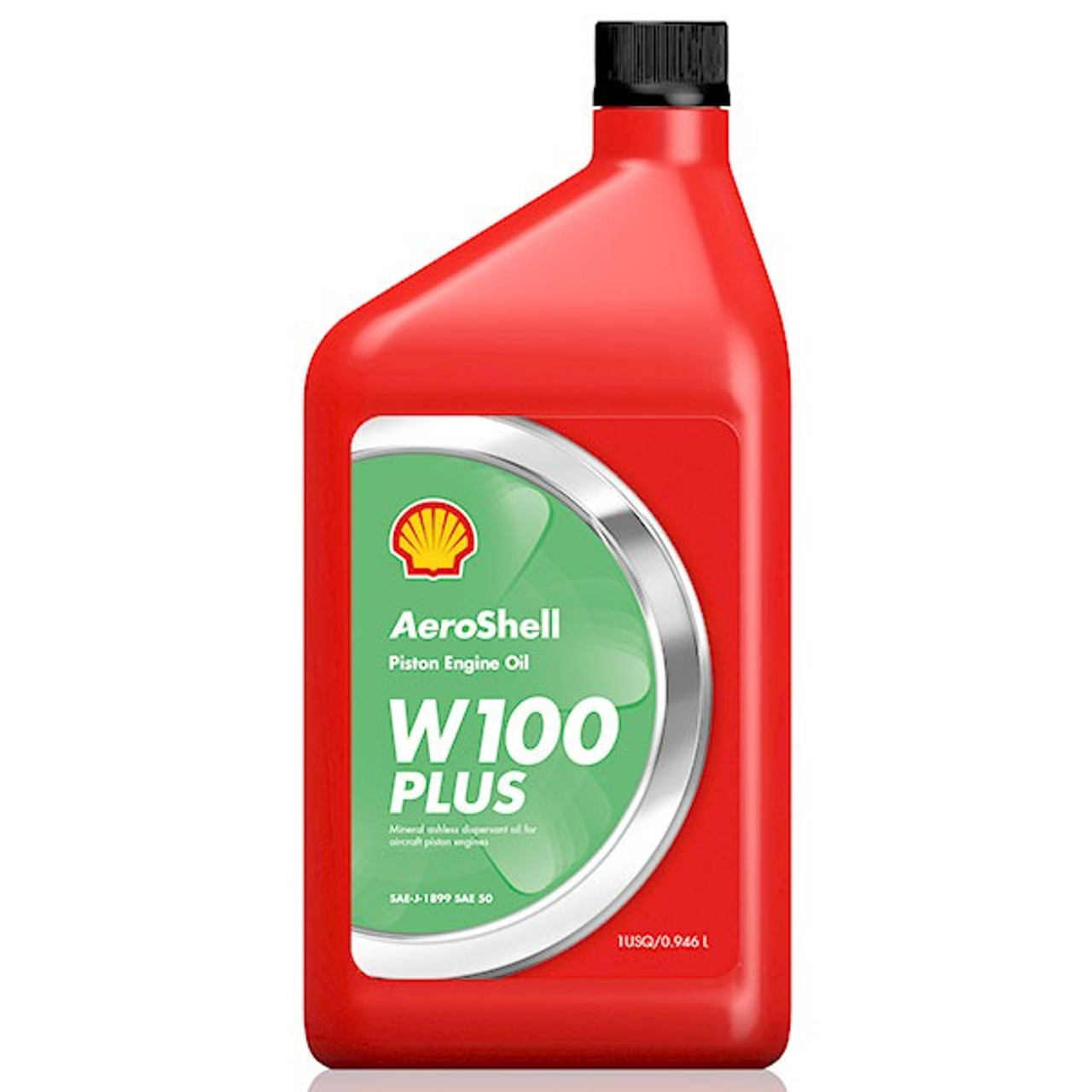 AeroShell W100 Plus SAE 50 Aircraft Oil - 12 Quart Case