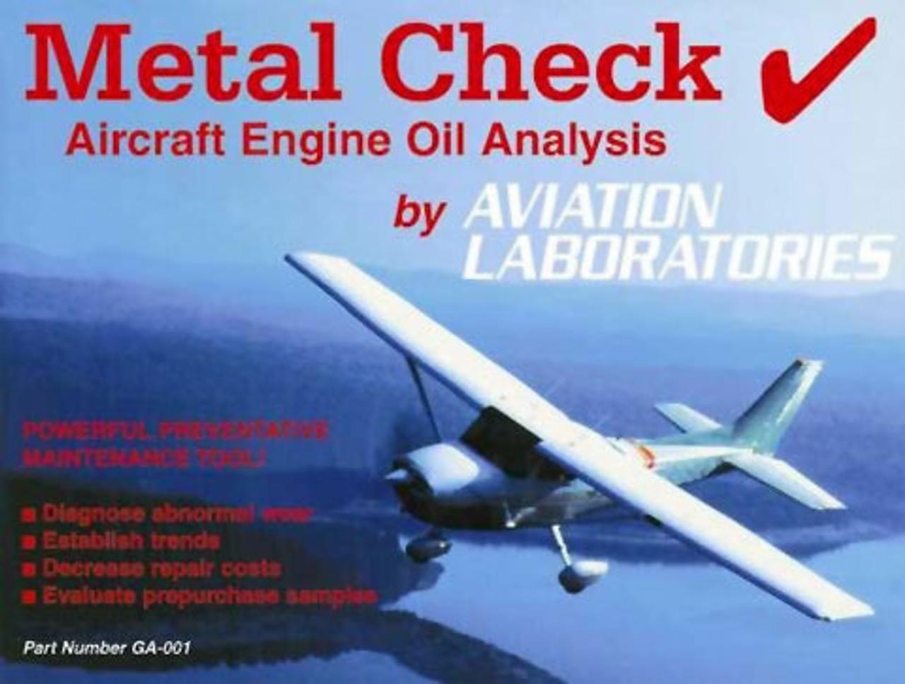 Aviation Laboratories Metal Check Oil Analysis Test Kit