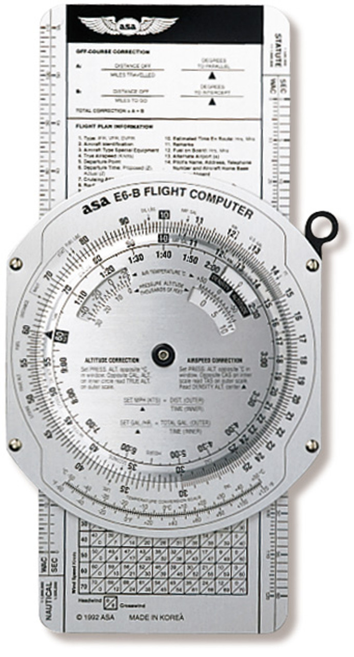 ASA E6-B Flight Computer